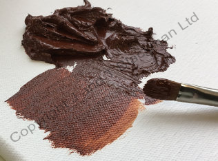 burnt umber paint