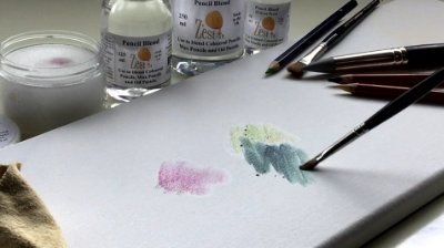 pencil blend blending sponge blends coloured pencil
