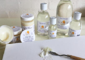 cold wax painting medium wax brushable liquiblend solvent